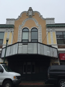 The front of the Old Loews Theater on Main Street in New Rochelle. The classic facade with Ornate designs display a beauty of yesteryear. Please click the picture for a closeup.