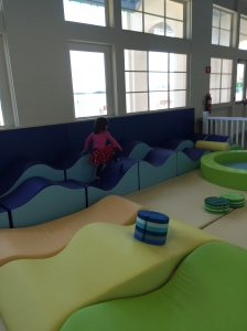 "Children can run in an enclosed ""Toddler Beach Area""."